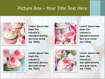 Wedding cupcakes PowerPoint Templates - Slide 14