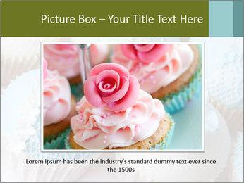 Wedding cupcakes PowerPoint Templates - Slide 15