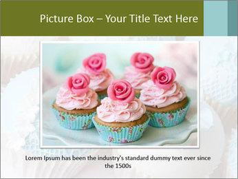 Wedding cupcakes PowerPoint Templates - Slide 16