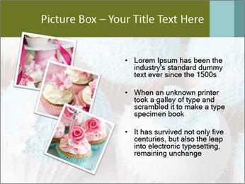 Wedding cupcakes PowerPoint Templates - Slide 17