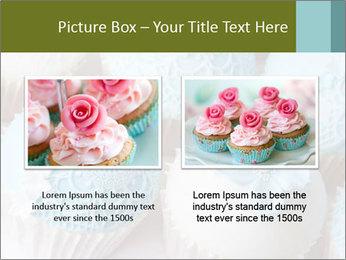 Wedding cupcakes PowerPoint Templates - Slide 18
