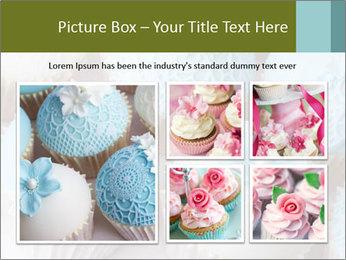 Wedding cupcakes PowerPoint Templates - Slide 19