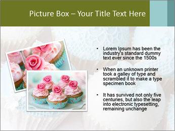 Wedding cupcakes PowerPoint Templates - Slide 20