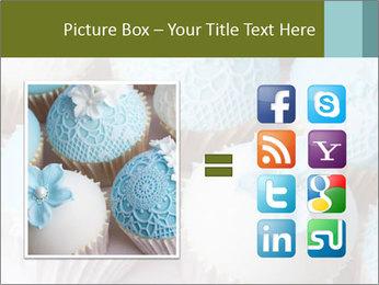 Wedding cupcakes PowerPoint Templates - Slide 21