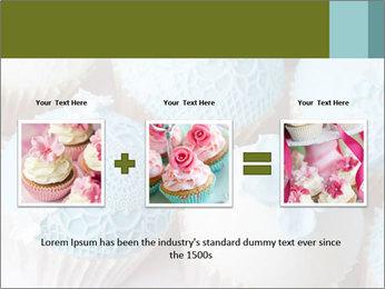 Wedding cupcakes PowerPoint Templates - Slide 22