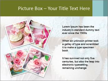 Wedding cupcakes PowerPoint Templates - Slide 23