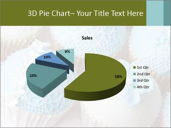 Wedding cupcakes PowerPoint Templates - Slide 35