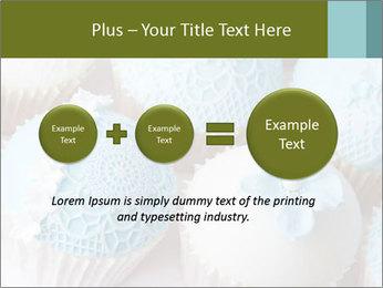 Wedding cupcakes PowerPoint Templates - Slide 75