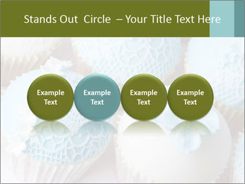 Wedding cupcakes PowerPoint Templates - Slide 76