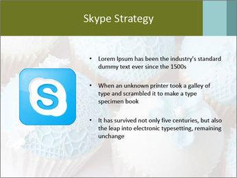 Wedding cupcakes PowerPoint Templates - Slide 8