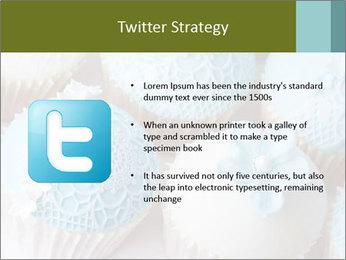 Wedding cupcakes PowerPoint Templates - Slide 9