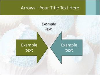 Wedding cupcakes PowerPoint Templates - Slide 90