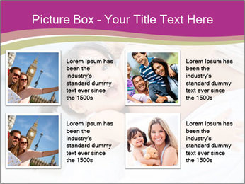 Girl loving her pregnant mother PowerPoint Templates - Slide 14