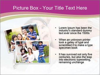 Girl loving her pregnant mother PowerPoint Templates - Slide 20