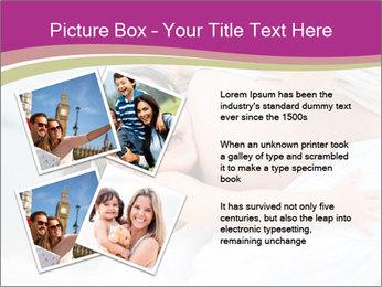 Girl loving her pregnant mother PowerPoint Templates - Slide 23