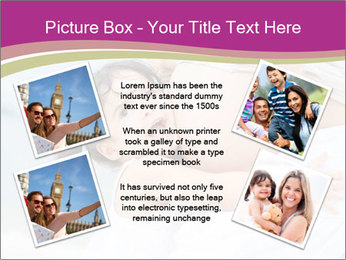 Girl loving her pregnant mother PowerPoint Template - Slide 24