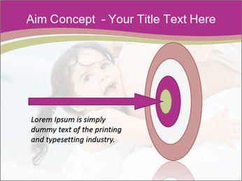 Girl loving her pregnant mother PowerPoint Template - Slide 83