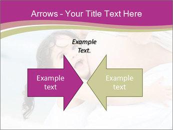 Girl loving her pregnant mother PowerPoint Templates - Slide 90