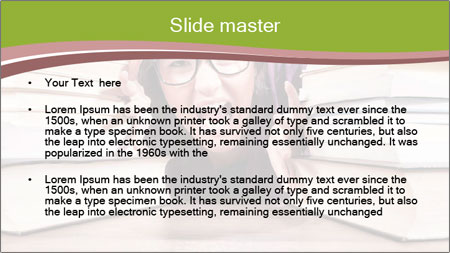 Selective focus PowerPoint Template - Slide 2