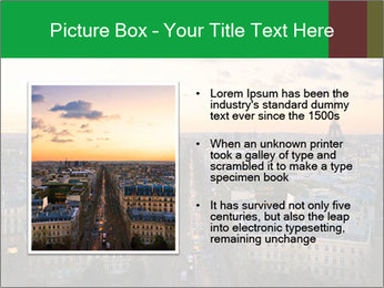View of the Eiffel tower PowerPoint Templates - Slide 13