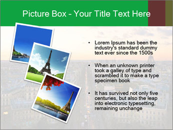 View of the Eiffel tower PowerPoint Templates - Slide 17
