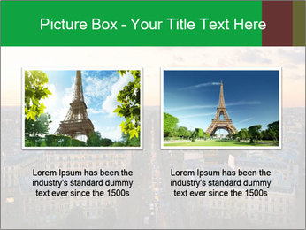 View of the Eiffel tower PowerPoint Templates - Slide 18