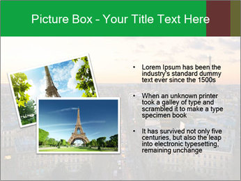 View of the Eiffel tower PowerPoint Templates - Slide 20