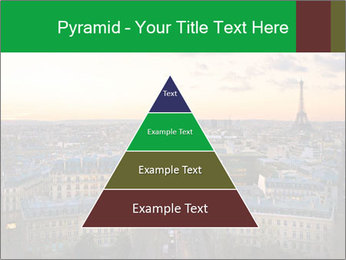 View of the Eiffel tower PowerPoint Templates - Slide 30