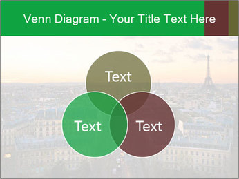 View of the Eiffel tower PowerPoint Templates - Slide 33