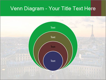View of the Eiffel tower PowerPoint Templates - Slide 34