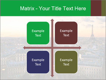 View of the Eiffel tower PowerPoint Templates - Slide 37
