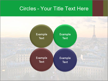 View of the Eiffel tower PowerPoint Templates - Slide 38