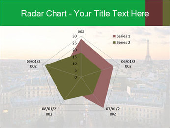 View of the Eiffel tower PowerPoint Templates - Slide 51