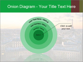 View of the Eiffel tower PowerPoint Templates - Slide 61