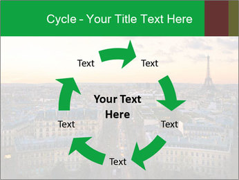 View of the Eiffel tower PowerPoint Templates - Slide 62