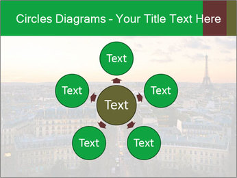 View of the Eiffel tower PowerPoint Templates - Slide 78