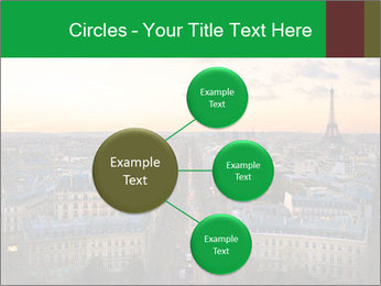 View of the Eiffel tower PowerPoint Templates - Slide 79
