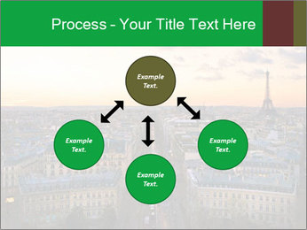 View of the Eiffel tower PowerPoint Templates - Slide 91