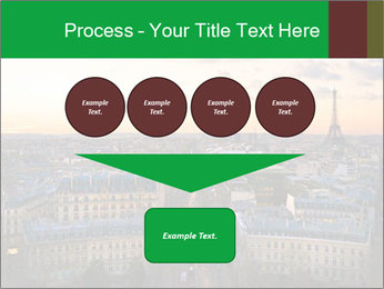 View of the Eiffel tower PowerPoint Templates - Slide 93