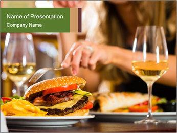Couple PowerPoint Template - Slide 1