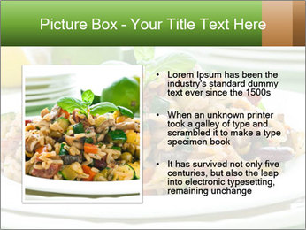Risotto with chicken and vegetables PowerPoint Templates - Slide 13