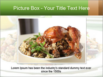 Risotto with chicken and vegetables PowerPoint Templates - Slide 16