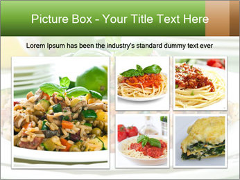 Risotto with chicken and vegetables PowerPoint Templates - Slide 19