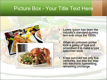 Risotto with chicken and vegetables PowerPoint Templates - Slide 20