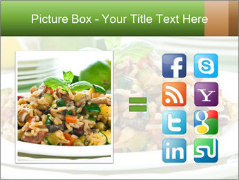 Risotto with chicken and vegetables PowerPoint Templates - Slide 21