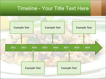 Risotto with chicken and vegetables PowerPoint Templates - Slide 28