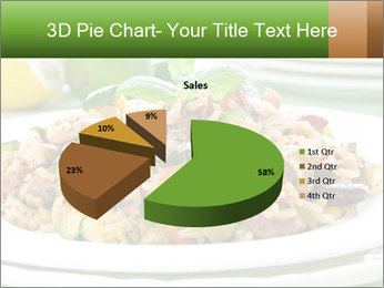 Risotto with chicken and vegetables PowerPoint Templates - Slide 35