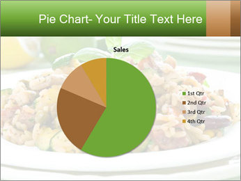 Risotto with chicken and vegetables PowerPoint Templates - Slide 36