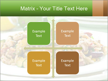 Risotto with chicken and vegetables PowerPoint Templates - Slide 37