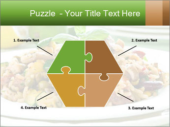 Risotto with chicken and vegetables PowerPoint Templates - Slide 40